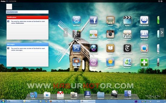 iPadian, iPad Simulator untuk Windows