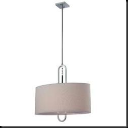 home depot - illumine chandelier fabric shade