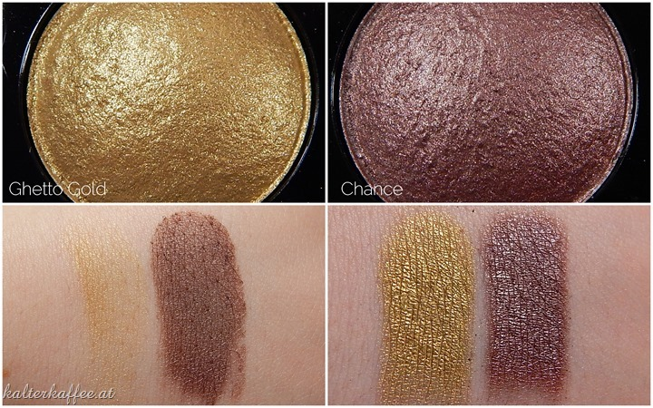 NYX Baked eyeshadow Ghetto Gold Chance