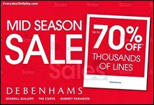 Debenhams Mid Season Sale 2013 Malaysia Deals Offer Shopping EverydayOnSales