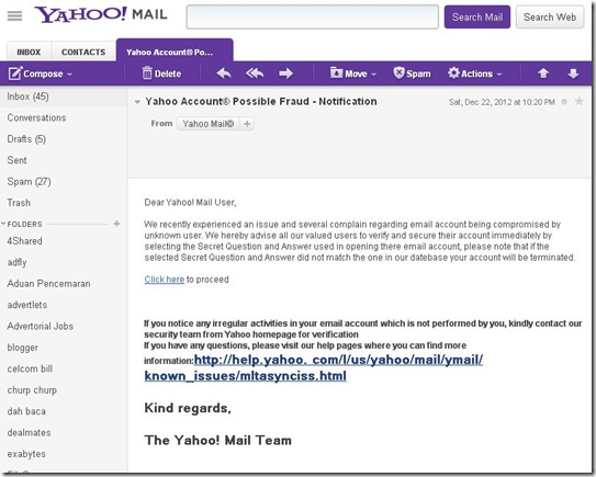 Trick mencuri Password email yahoo 1