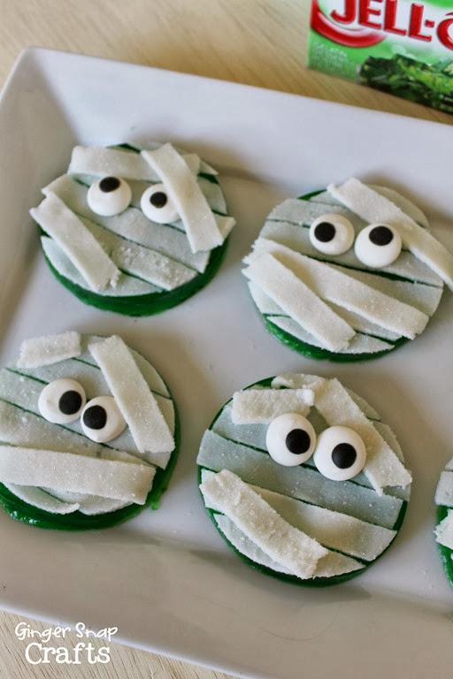 mummy halloween treats #spon