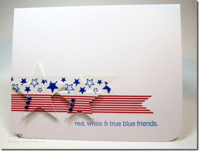 CFC61 - Red White & Blue Friend