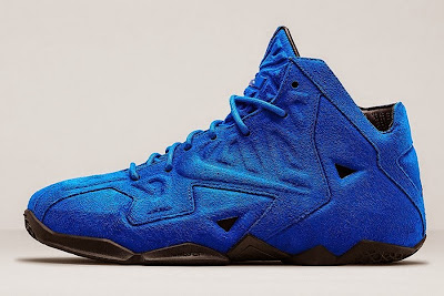 nike lebron 11 nsw sportswear ext blue suede 5 04 Nike LeBron XI EXT Blue Suede Drops on April 10th for $200