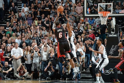 lebron james nba 140615 mia at sas 12 game 5 San Antonio Spurs Are Champions Again After Defeating Miami Heat in 2014 NBA Finals