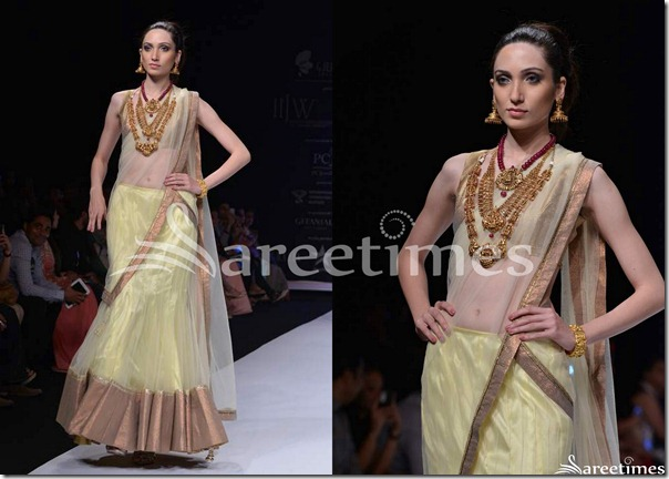 Day_2_IIJW_Cream_Georgette_Half_Saree
