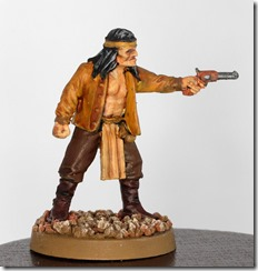 Legends of the Old West - Black Scorpion Apache