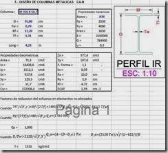 Diseño de columnas metalicas IPR ASD