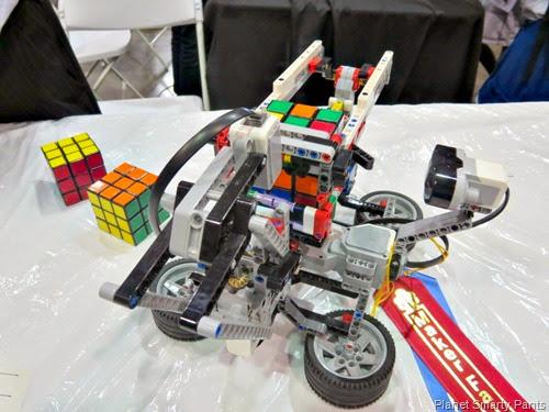 Lego Rubik Cube Solver