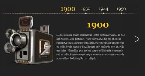 Visor de imágenes en el tiempo
