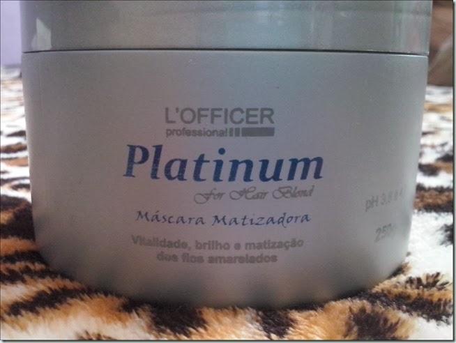 O Novo Matizador da L'Officer: Platinum