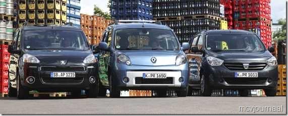 Dacia Lodgy - Renault Kangoo - Peugeot Partner 03
