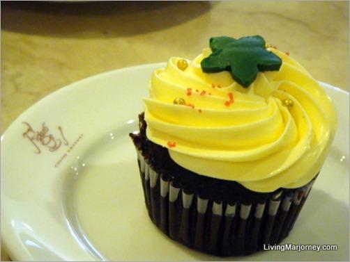 Figaro Christmas Cupcakes