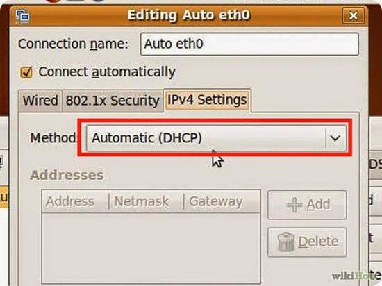 Configurare il servizio DHCP