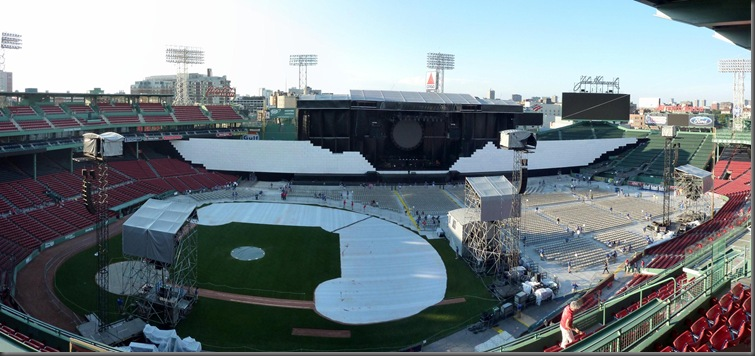 Boston Fenway Park 5 panorama