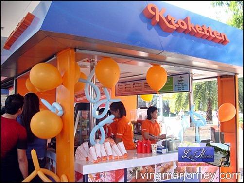 Kroketten kiosk SM MOA Terminal Area