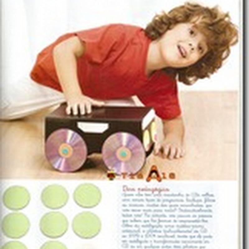 manualidades reciclar CD