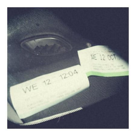 parking permit tickets