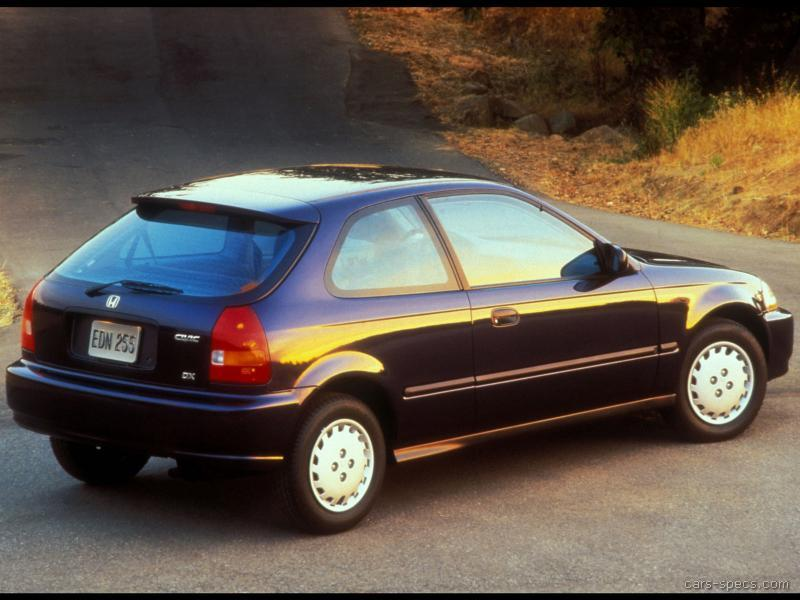 1996 honda civic hatchback specifications pictures prices. Black Bedroom Furniture Sets. Home Design Ideas