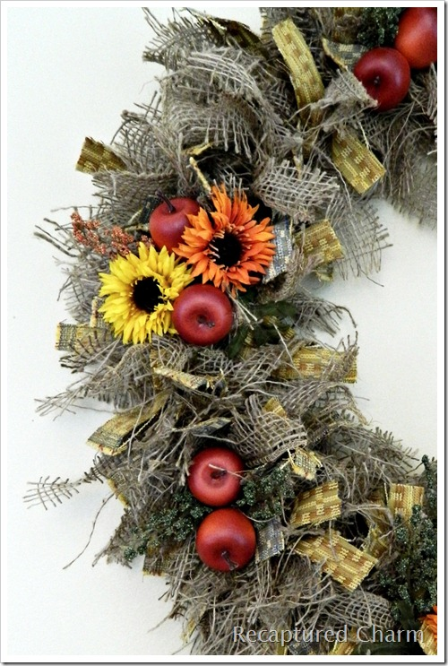 Autumn Kitchen Wreath 056a