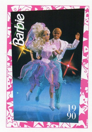 Barbie & Ken Ice Capades 50th Anniversary 1990