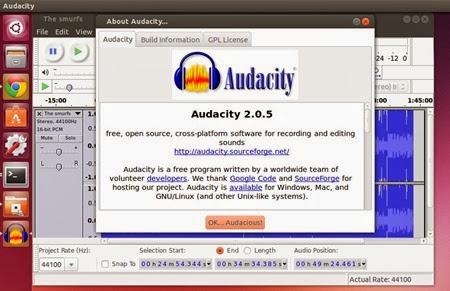 audacity205