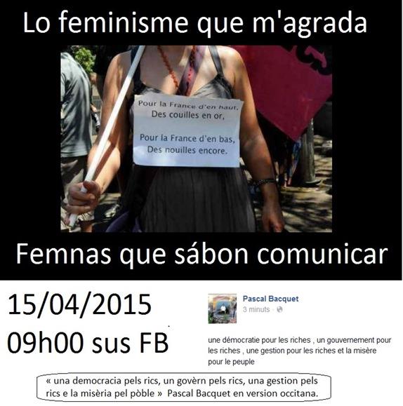 feminisme que m'agrada