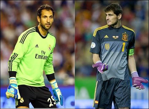 Diego López  deja el Real Madrid  e Iker Casillas se queda con Keylor Navas