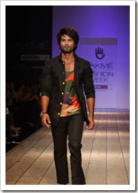 shahid kapoor on ramp
