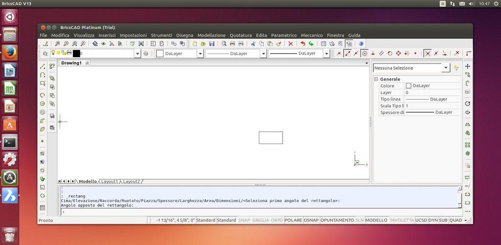 BricsCAD in Ubuntu Linux
