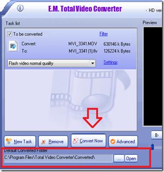 การใช้งาน total viedo converter