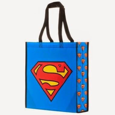 Superman Tote Bag from Stylin Online