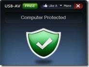 Protezione antivirus per PC da dispositivi USB con USB-AV Free