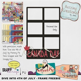 MMTS & TSK - Dive into 4th of July - Freebie Preview
