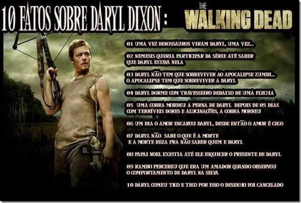 10 fatos sobre Daryl Dixon
