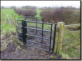Kissing gate on the Bollin Valley Way