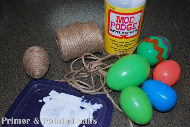 Easter Egg Supplies - Primer & Painted Nails