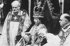 1953 couronnement de la reine