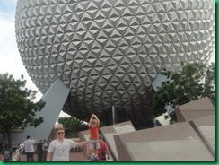 MJ holding up epcot