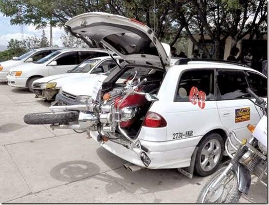 Robo de vehículos en Cochabamba