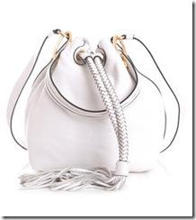 Diane von Furstenberg white bag