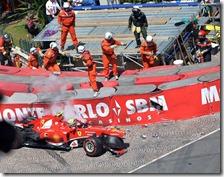 L'incidente di Massa a Monaco 2013