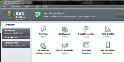 ฟรีโปรแกรมสแกนไวรัส