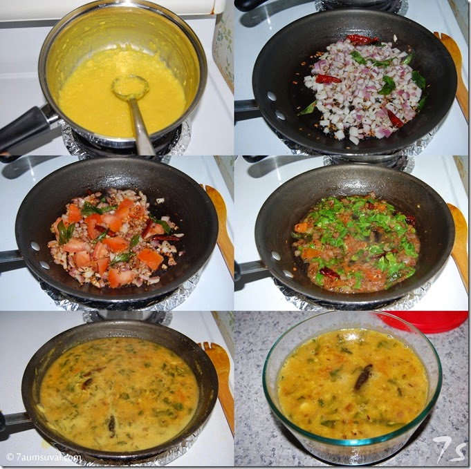 Methi dal process