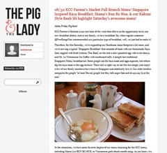 Pig and the Lady Singapore Breakfast