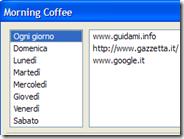 Aprire specifici siti internet in automatico in base al giorno della settimana (Firefox)