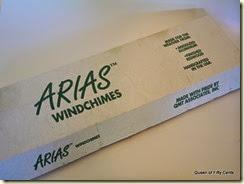 Arias windchime