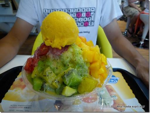 永康街-思慕昔-超級綜合水果冰