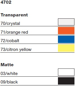 Kartell 4702 hook color options