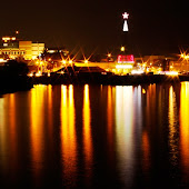 Manado at night